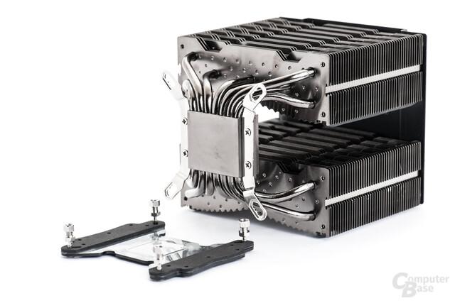 Unverändertes Montagekit für AMD- und Intel-Plattformen besitzt deutliche Komfort-Reserven