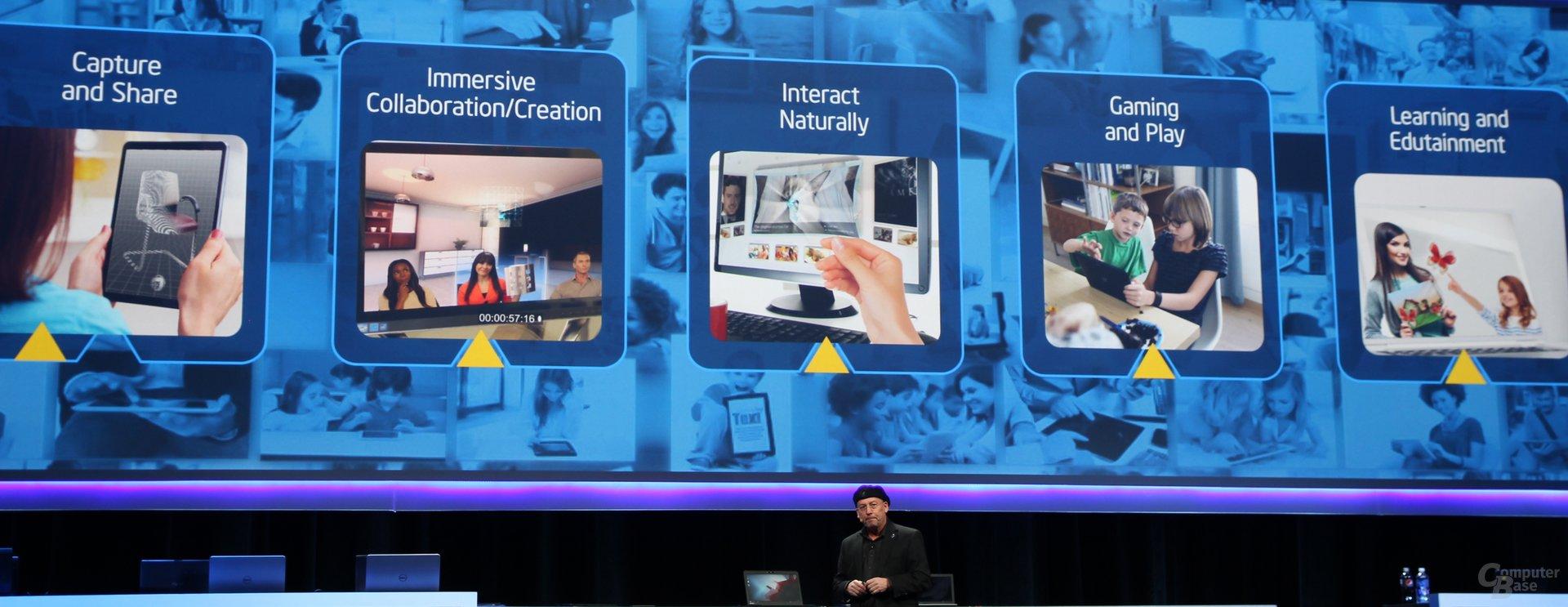 Möglichkeiten durch die Intel RealSense 3D-Kamera