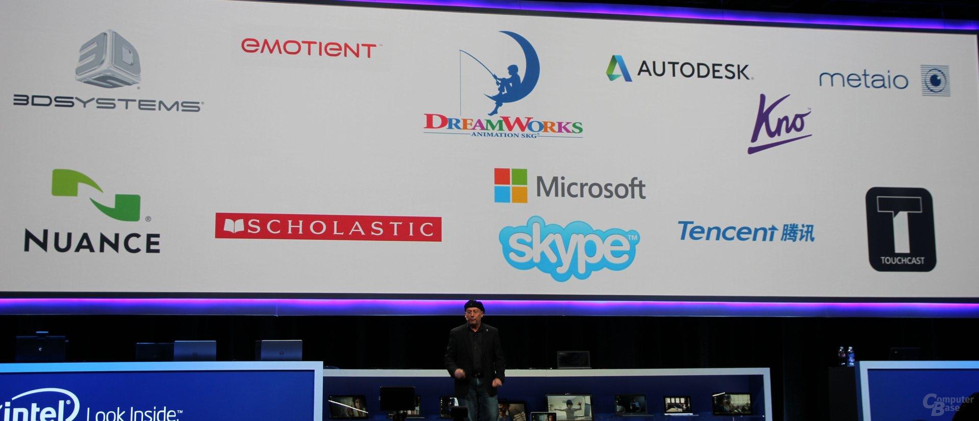 Partner im Software-Bereich