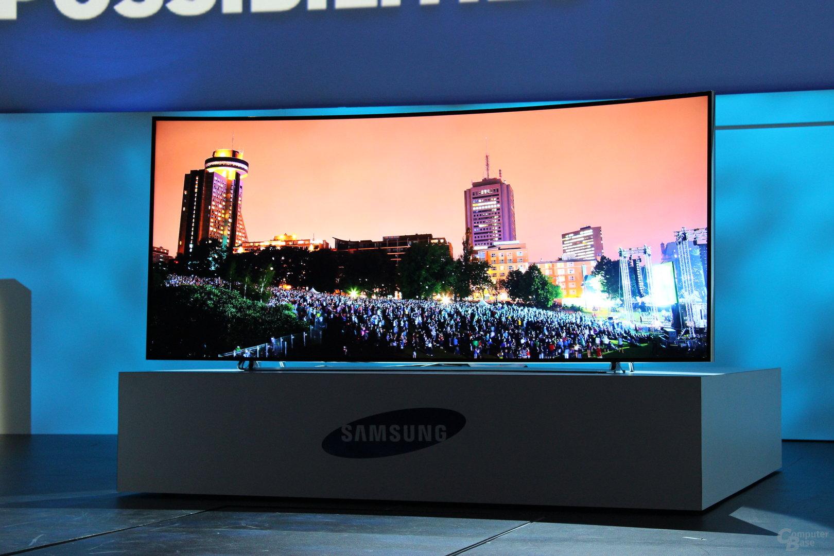 UHD-Fernseher von Samsung zur CES 2014