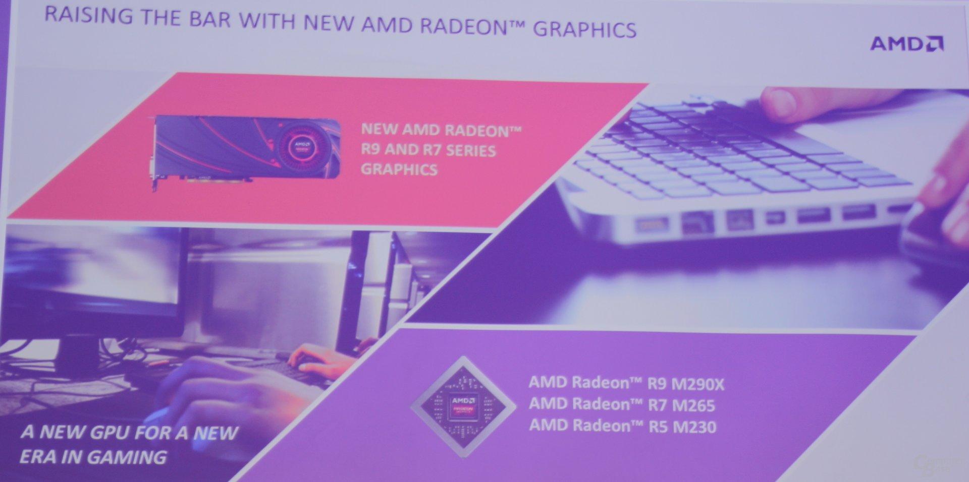 "AMD bringt ""Volcanic Islands"" ins Notebook"