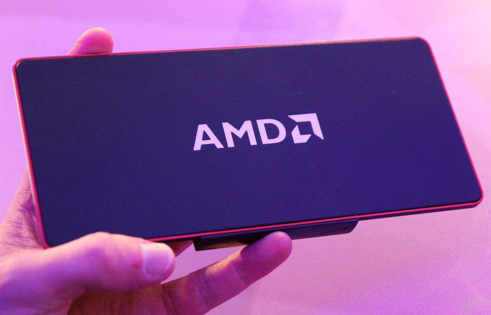 """AMD zeigt Micro-PC mit """"Mullins"""""""