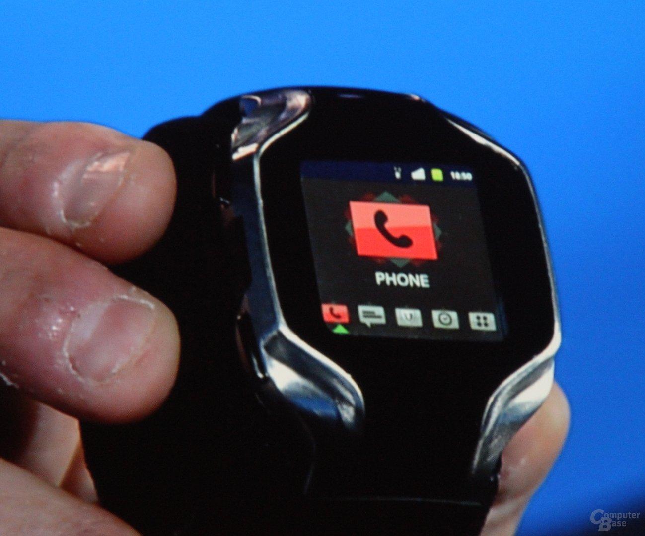 Smartwatch-Überlegungen von Intel
