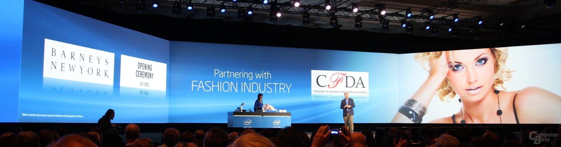 Kooperation mit Modefirmen für neue Ideen