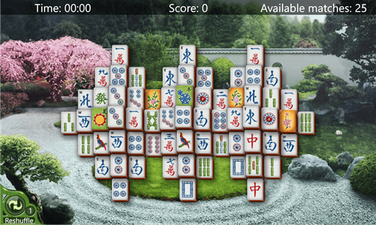 Mahjong für Windows Phone