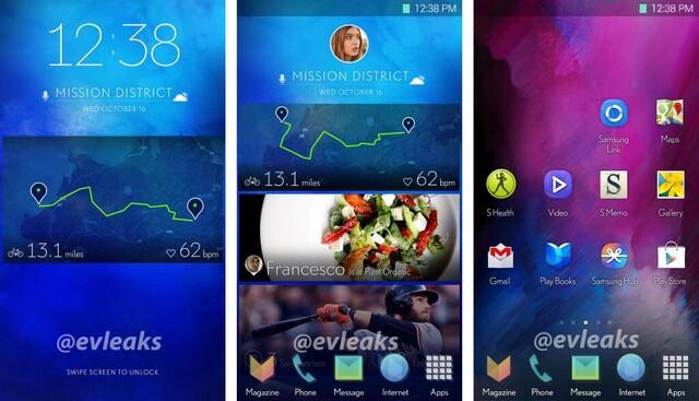 Angebliche neue TouchWiz-Oberfläche