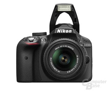 Nikon D3300 mit AF-S DX NIKKOR 18-55 mm 1:3,5-5,6G VR II