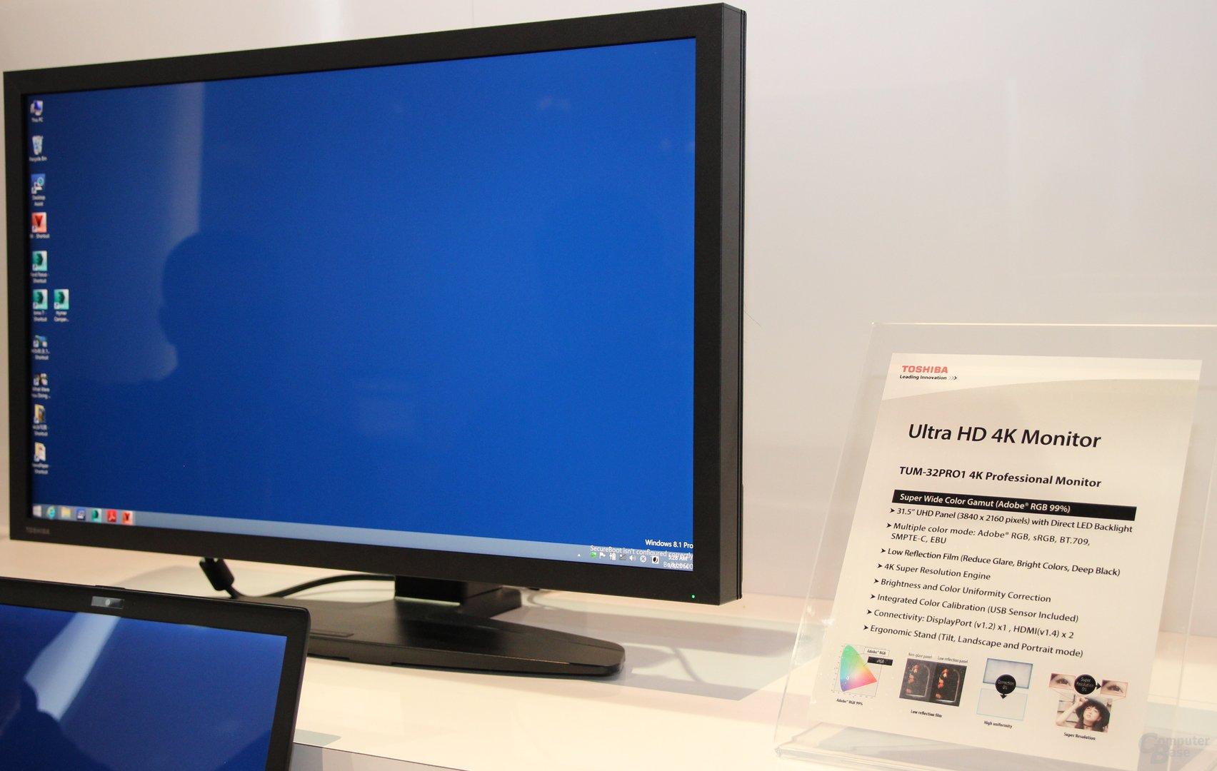 Toshibas 4K-Display