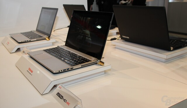 Toshiba-Notebooks mit 4K-Display