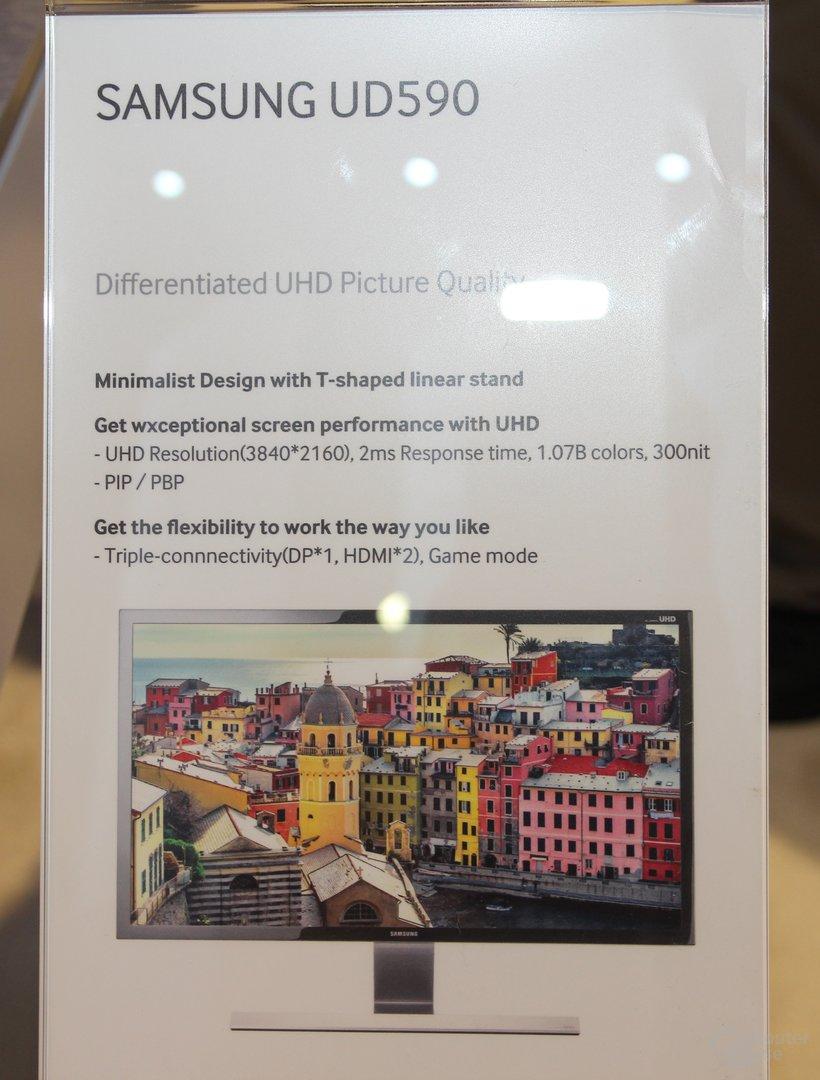 Samsungs 4K-Monitor UD590