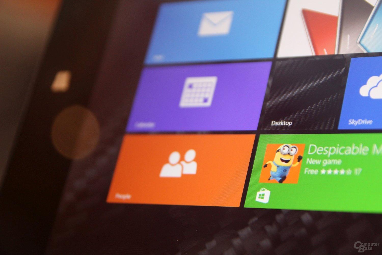 Lenovo ThinkPad 8 ausprobiert
