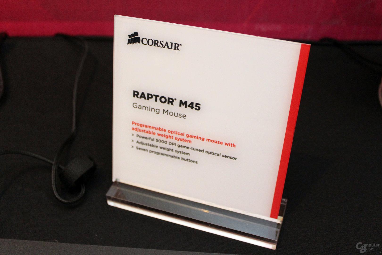 Corsair Raptor M45