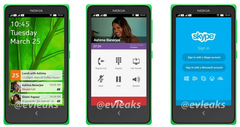 Angebliches Android-Smartphone von Nokia
