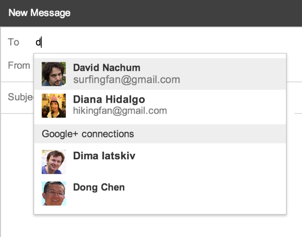 Neue Funktion von Gmail