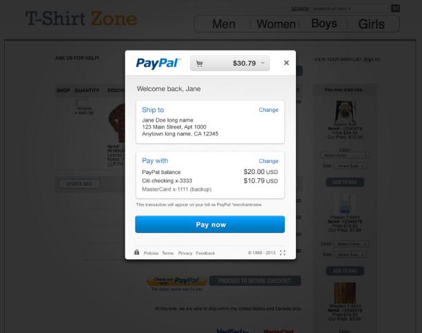PayPals neues Bezahlsystem