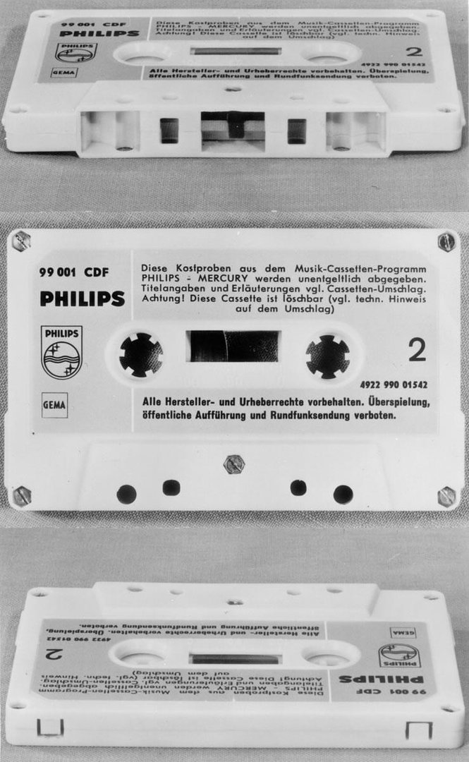 Compact Cassette von 1963