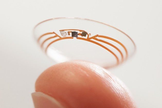 Smart Contact Lens von Google