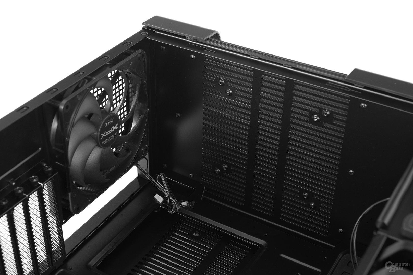 XFX Type 1 Bravo - Optionaler Lüfterplatz im Deckel