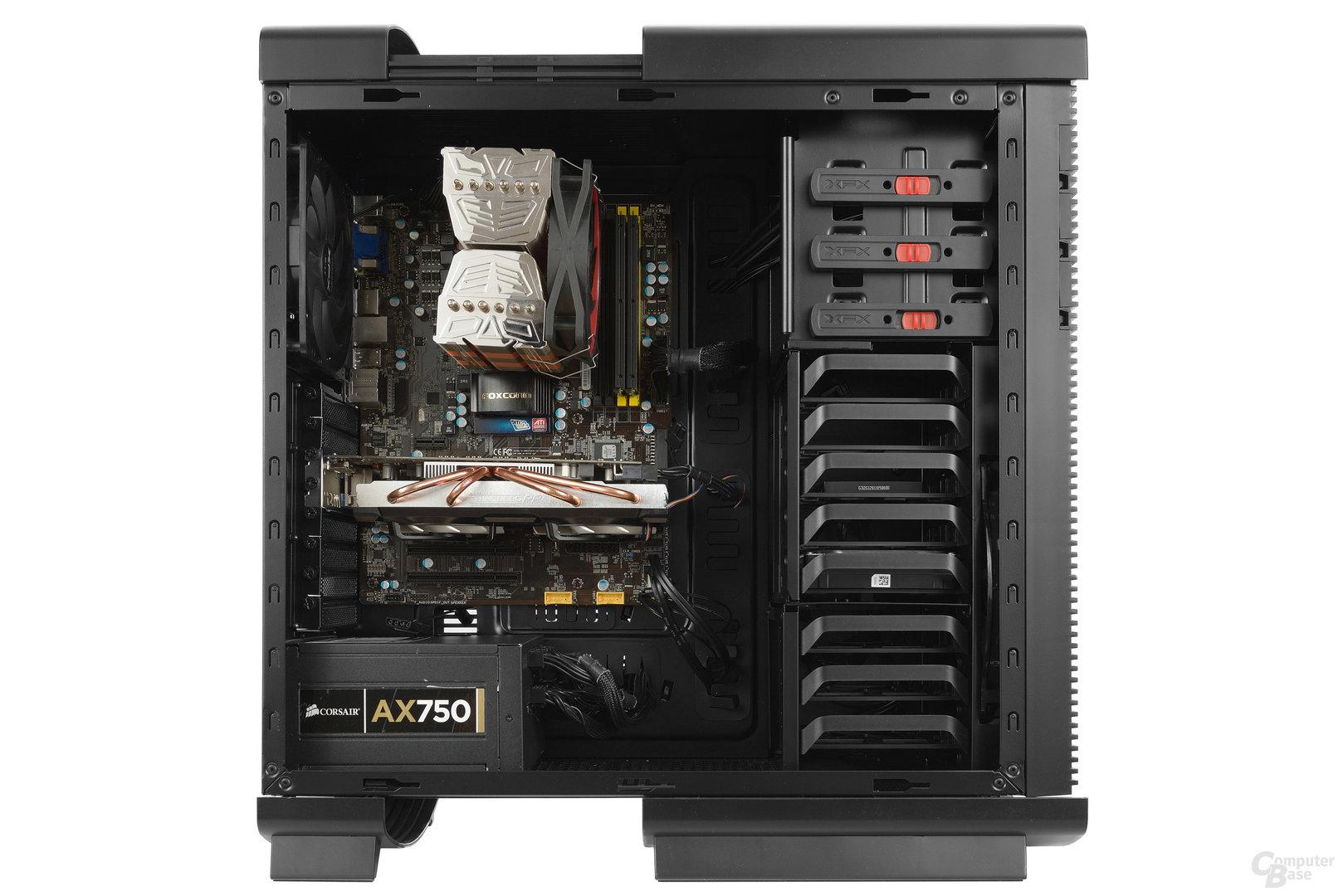 XFX Type 1 Bravo - Testsystem