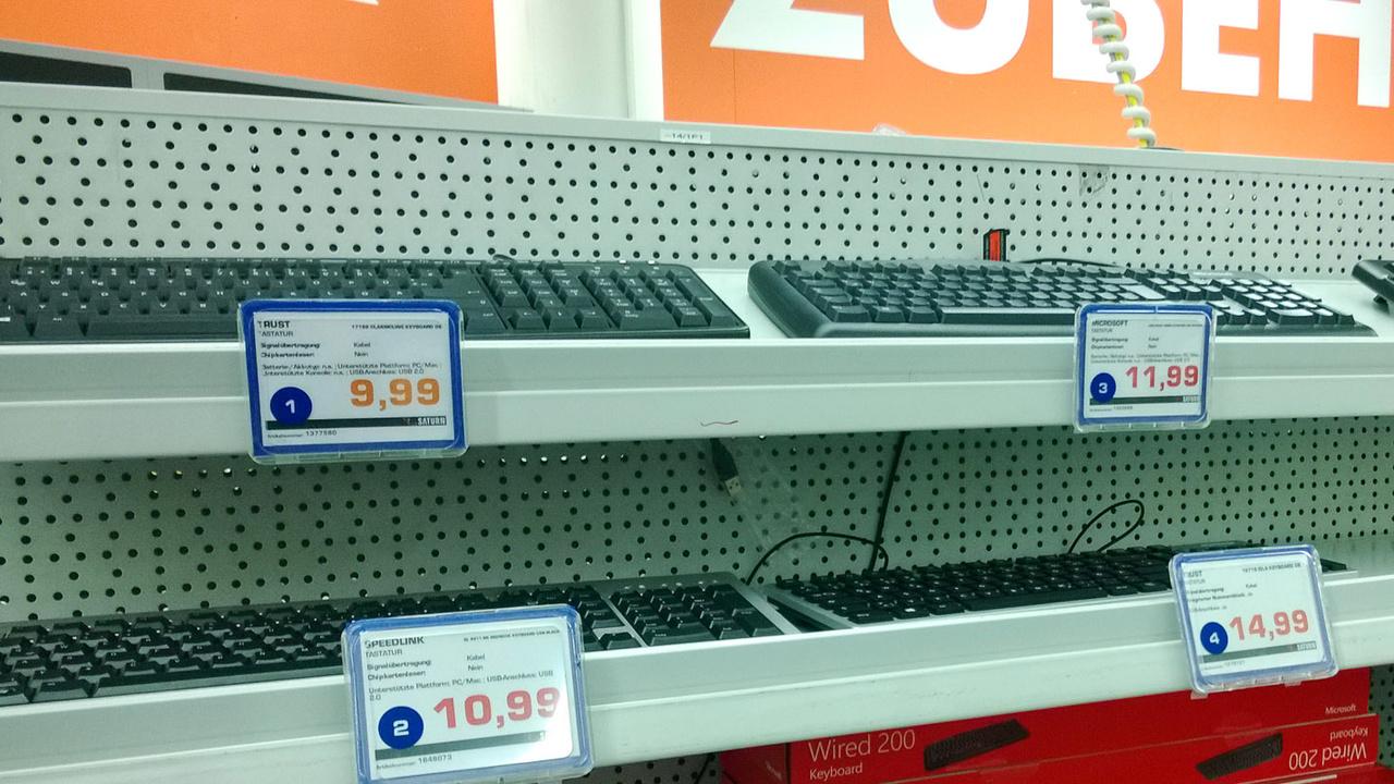 Von günstig bis billig: 18 günstige Tastaturen für unter 15 Euro im Test