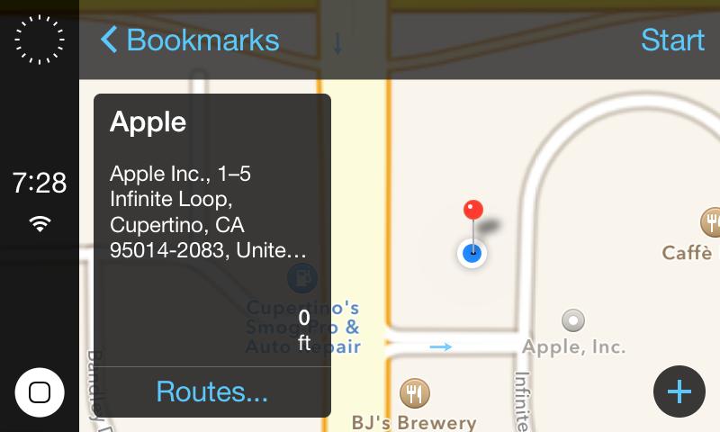 iOS in the Car von Steven Troughton-Smith