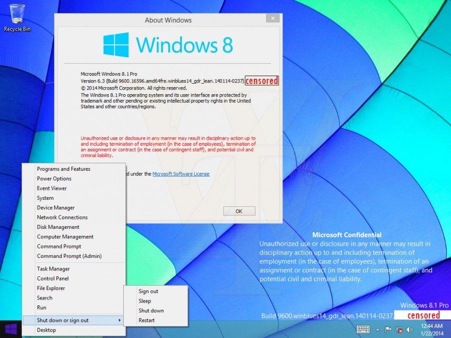 "Windows 8.1 ""GDR1"""