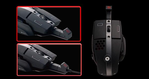 t eSPORTS Level 10M Hybrid Mouse