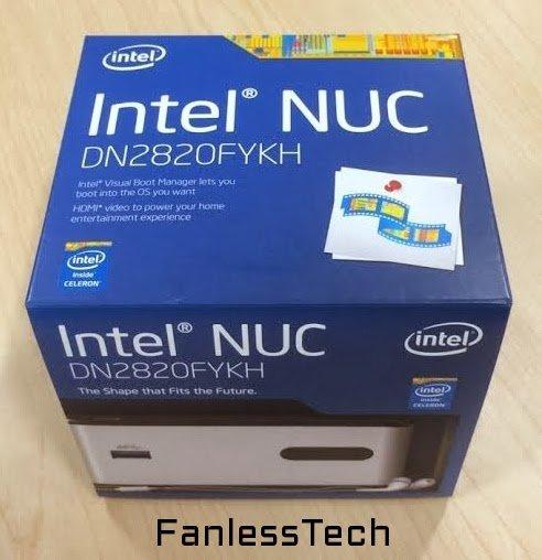 Intel NUC DN2820FYK für den Endkundenhandel