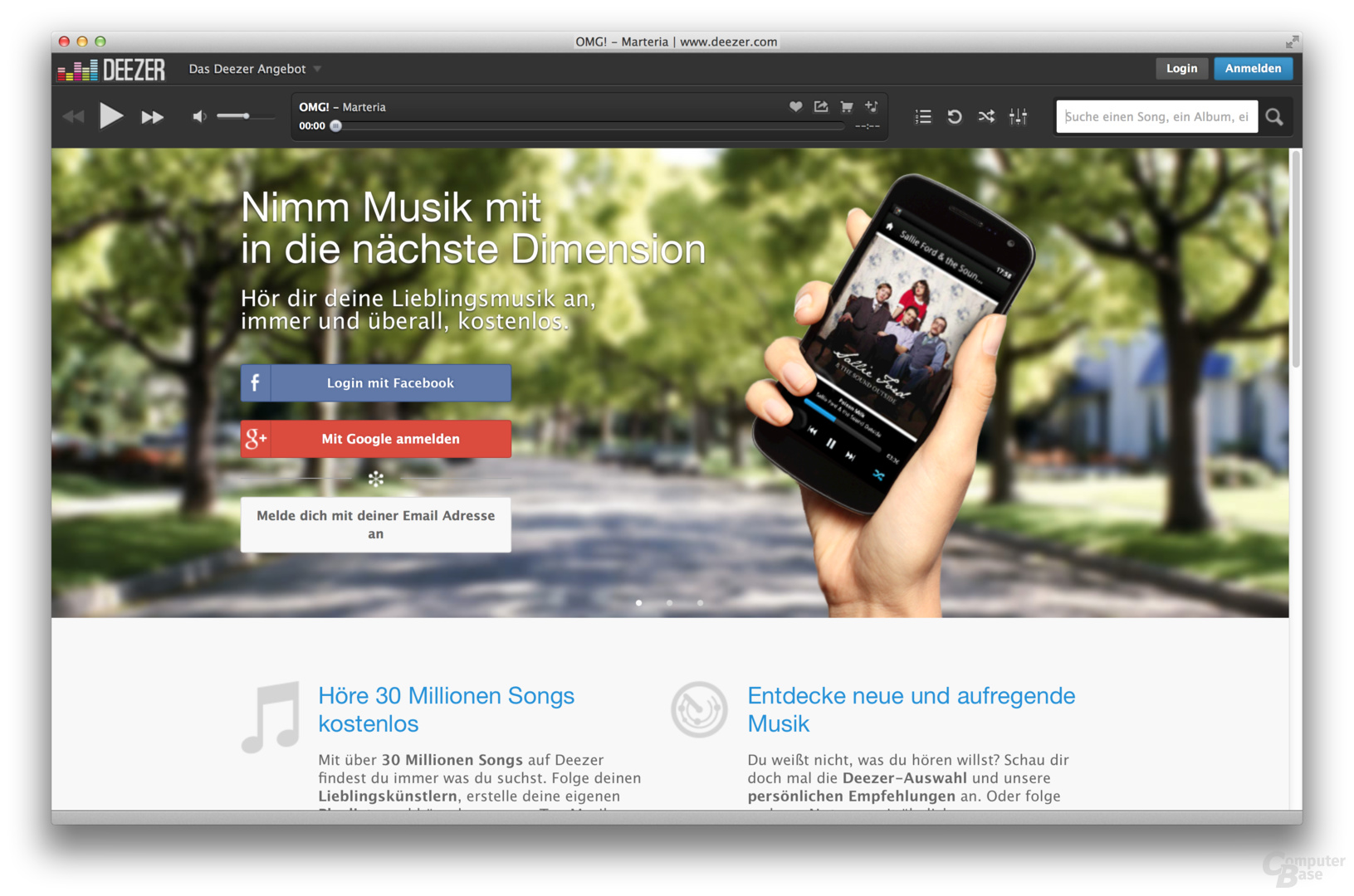 6 × Musik-Streaming im Test: Deezer, Google, Napster, Spotify und Co.