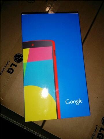 Google Nexus 5 in Rot