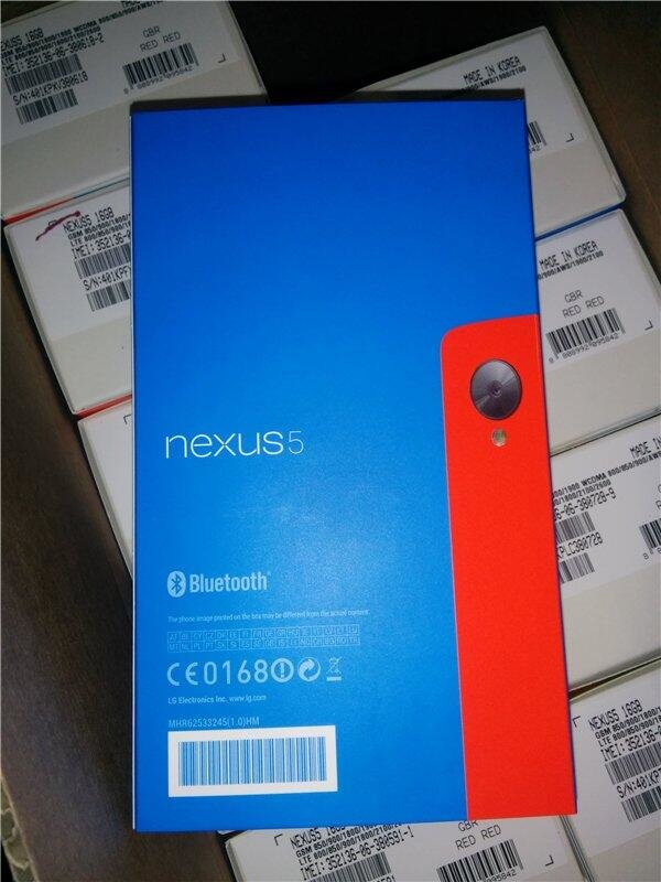 Google Nexus 5 in Rot