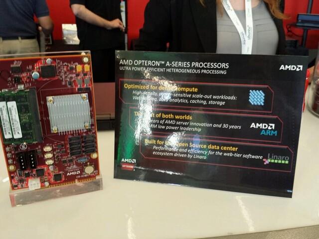 AMD Opteron A Entwicklerplatine
