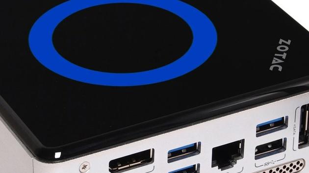 Zotac Zbox nano ID67 Plus im Test: Kompakte Anschlussvielfalt mit Intel Core i3