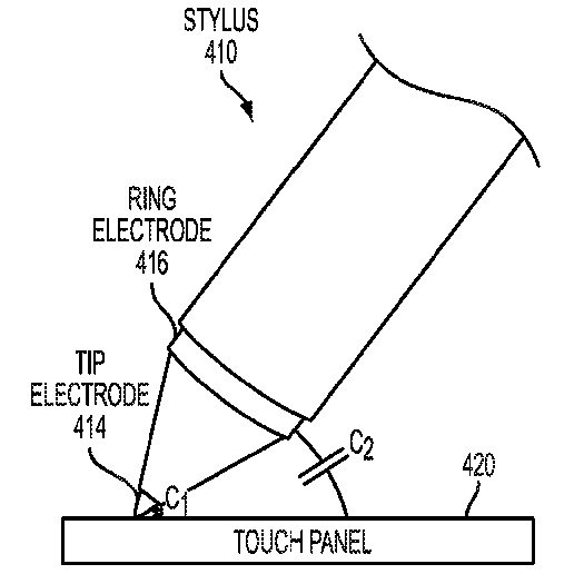 "Apple-Patent ""Stylus orientation detection"""