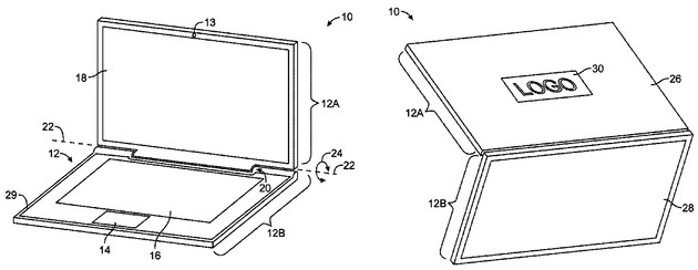 "Apple-Patent ""Electronic device display module"""