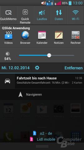 LG G Pro Lite Dual – Statusleiste