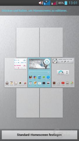 LG G Pro Lite Dual – Homescreens