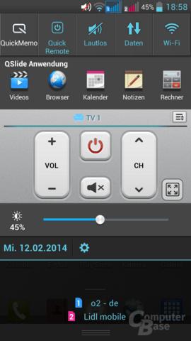 LG G Pro Lite Dual – Quick Remote