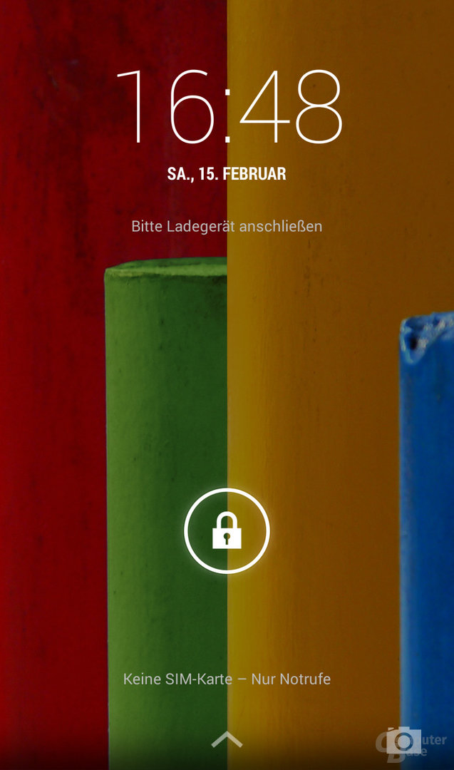 Motorola Moto G Lockscreen
