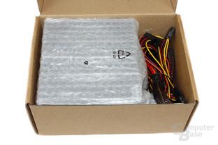 Chieftec Smart GPS-500A8 - geöffnete Verpackung