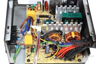 Chieftec Smart GPS-500A8 - Sekundärseite im Detail