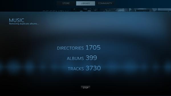 Neue Musikfunktion für Steam