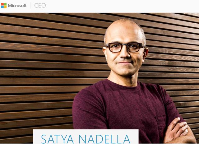 Der neue CEO: Satya Nadella