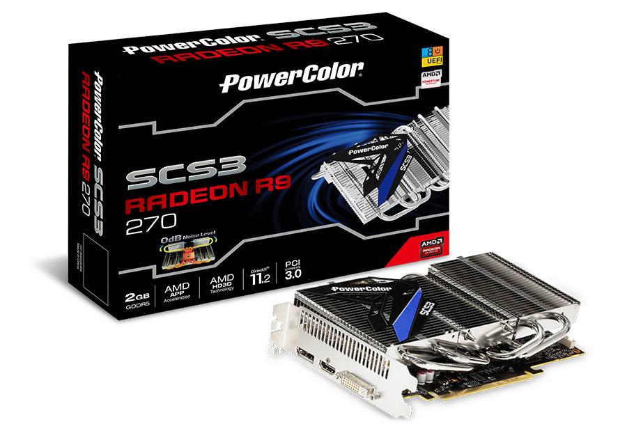 PowerColor SCS3 R9 270 2GB GDDR5
