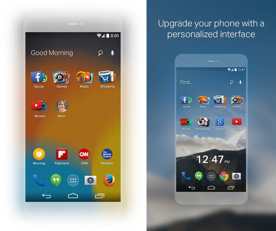 Firefox Launcher für Android / EverythingMe Launcher