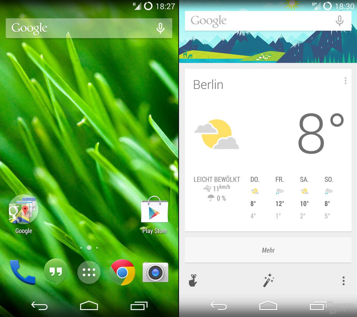Google Now & Google Now Launcher