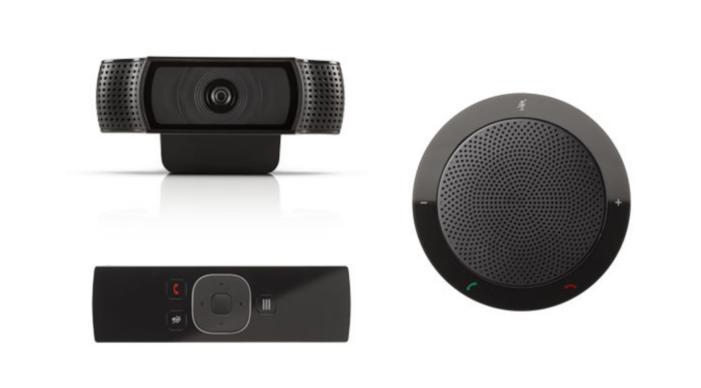 Kamera, Voice-Point und Fernbedienung