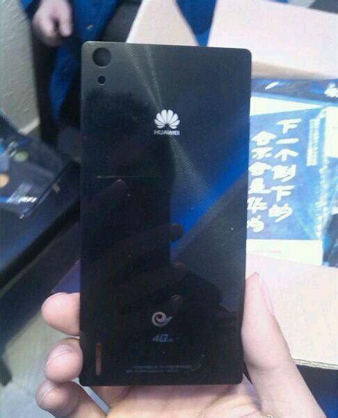 Rückseite des vermeintlichen Huawei Ascend P7