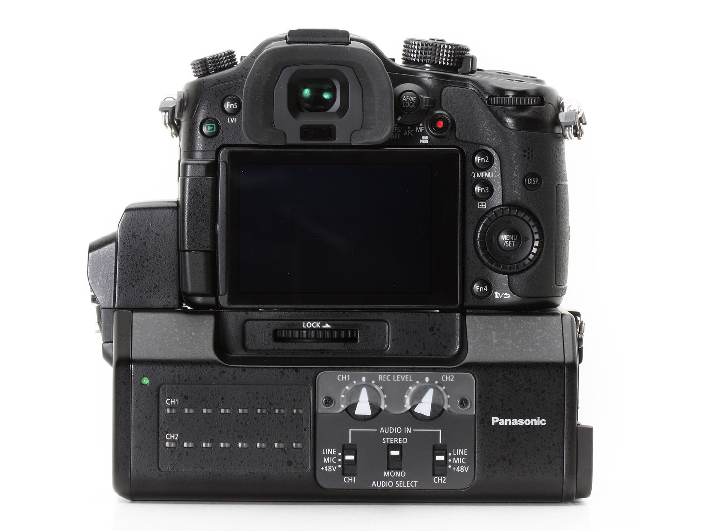 Panasonic Lumix DMC-GH4 Video-Interface Einheit DMW-YAGH