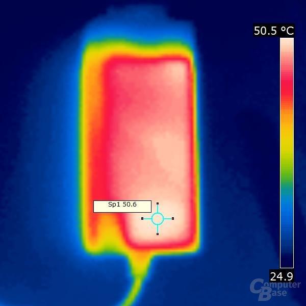 Wärmebild externes Netzteil